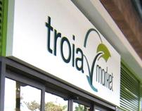 Brand identity - Troia Market