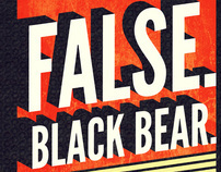 False, Black Bear