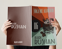 cocktail magazine Black Russian edition