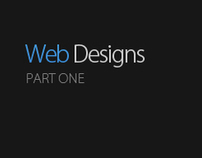 Web Interface Designs