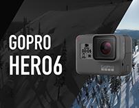 GoPro HERO6 - Landing page