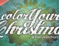 Color Your Christmas - Web Banner