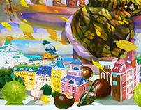 Postcards for Dobra Lystivka