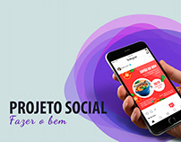 Mídia social - Projeto Social Fazer o bem