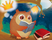 Children's Storybook - The Owl who Wanted to be King