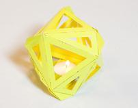 Bougeoir Yellow