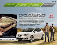 Seat Ibiza Spotify