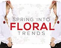 Spring Florals HP Banner