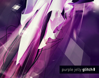 purple jelly glitch