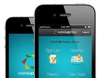 Mobile Application for Wakeupnow.com