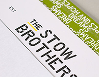 The Stow Brothers - Branding