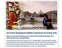 Citi Advantage Email