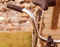 Bicicleta de Passeio Dobrável