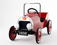 3d model: Classic Pedal Car by Baghera