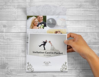 Postcard Pocket Invite With Envelope Mockups V.2