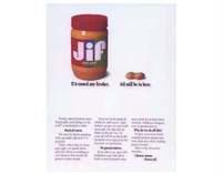 Jif Peanut Butter print ad