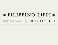 Filippino Lippi - Book Cover Concept