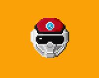 Pixel-Art : Choushinsei Flashman