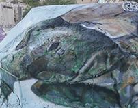 Mural Painting - Turtle
