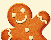 Gingerbread Christmas Icons