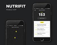 Nutrifit mobile App