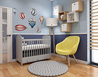 Interior design - kids room