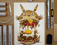 Totoro Burger