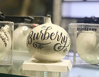 Burberry | Lettering project for Luxottica Mx.
