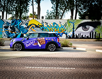 Mini Cooper S - Cadburry Bubbly Social Media Campaign