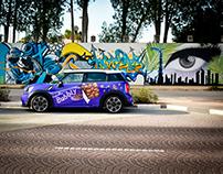 Mini Cooper S - Cadburry Bubbly Social Media Campaign
