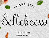 Sellebeew font