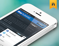 ФШ tutorial App for iOS