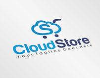Cloud Store | Logo Template