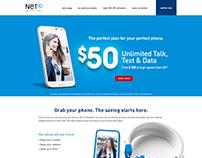 NET10 Wireless BYOP Awareness Landing Page