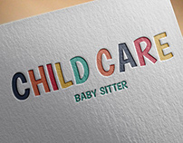 Child Care - baby sitter - Brand Identity