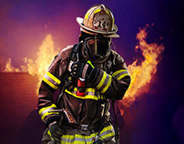 Fire Fighter Recruitment Ad