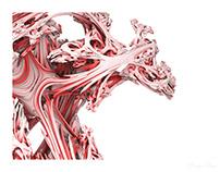 Organic fractals - 3D