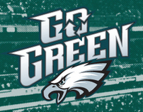 Philadelphia Eagles Go Green