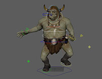Troll. Character animation.