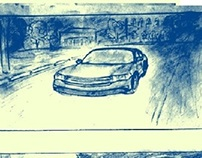 Storyboard - Car accident