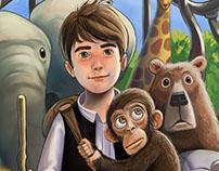 Children's Novel cover.