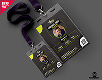 Creative Office Identity Card Free PSD