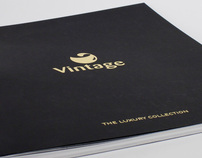 VINTAGE -THE LUXURY COLLECTION CATALOGUE