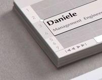 Engineer business card