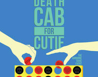 Death Cab For Cutie gig poster