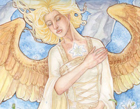 Angelic Visions: Create Fantasy Art Angels