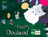 Dixiland  tv series 4'X26