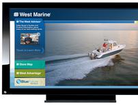 West Marine Interactive Onsite Kiosk