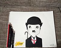 The Great Charlie Chaplin | Powered by Syed Art