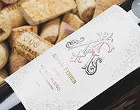AF Wine Monogram & Label